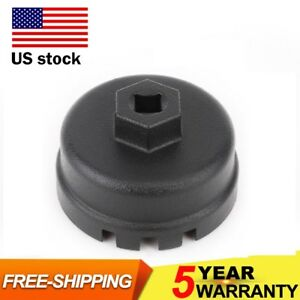 Engine 64mm 14 Flute Oil Filter Cap Wrench Tool Fit Toyota Lexus Scion 2 5l 5 7l