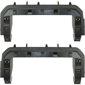 Grille Bracket Set For 2011 2016 Ford F 250 Super Duty Left Right Gray 2pc