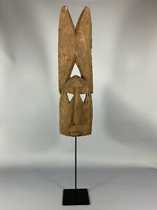 180103 Large Old Tribal Used African Dogon Mask Mali