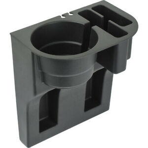 Premium Cell Phone Black Seat Wedge Organizer Cup Holder For Auto car truck