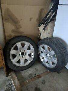 Bmw 3 Series 2 Factory Stock Wheels Rims With Tires