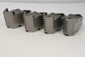 4 New Bison Hard Top Jaws For 4 Jaw 6 6 1 4 Lathe Chuck 341 List