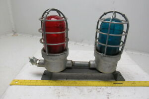 Crouse Hinds Vda 175 M5 Explosion Proof Industrial Red Blue Lights