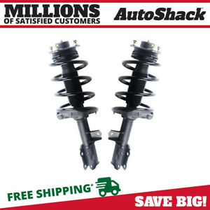 Front Complete Strut Coil Spring Assembly Pair 2 For Kia Forte5 Forte Koup