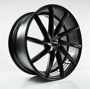 4pcs Vossen Cvt 18inch 8j 9j 5x114 3 Alloy Wheel Cheap Rim Flat Black 175 177 2