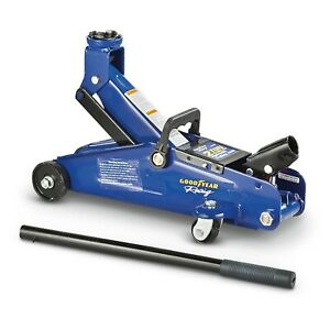 Goodyear Racing Hydraulic Trolley Jack 2 Ton Capacity