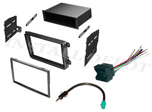 Vw Car Stereo Radio Complete Install Kit Dash Wire Harness Antenna Adapter