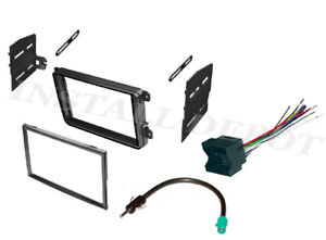Vw Complete Car Stereo Radio Install Kit Dash Wire Harness Antenna Adapter