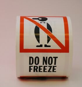 Do Not Freeze Labels 4 X 6 500 Per Roll Shipping Label