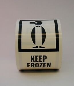Keep Frozen Labels 4 X 6 500 Per Roll Shipping Label
