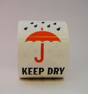 Keep Dry Labels 4 X 6 500 Per Roll Shipping Label