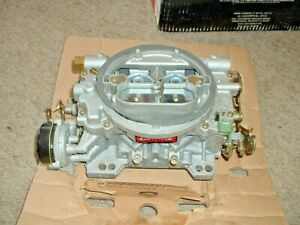 Edelbrock 1409 Performer Marine Carburetor 600 Cfm Electric Choke Used Once