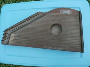 Antique Autoharp C F Zimmermann S May 9 52 23 Cord Nae Metal Pick 166 Years