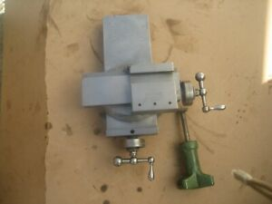 Hardinge Lathe Model B Compound Cross Slide And Mounting Plate