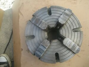 Lathe 4 Jaws Chuck 10 Inches Wide 3 Inches Thick Very Heavy