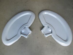 2 Fenders Lh Rh With Bracket For Ford 861 871 881 901 941 951 Backhoe 420