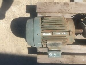 Reliance Electric 10 Hp Motor