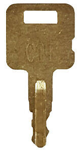 All Metal Cat Heavy Equipment Key Ignition Key Caterpillar Asv Tigercat More