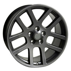 Gunmetal Wheel 22x10 For 2011 2014 Ram 1500 Owh3590