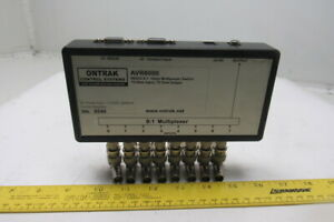 Ontrak Control Systems Avr8000 Video Multiplexer switch 8 1 75 Ohm Input