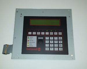 Gamewell If 610 Fire Control Panel Display W 30867 sm Cpu Pcb Module