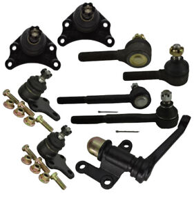 Front Ball Joint Tie Rod End Idler Arm Kit 9pc Set For 89 95 Toyota Pickup 2wd
