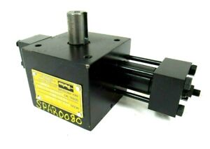 New Parker Htr 9 1803c xb12 a62 Hydraulic Rotary Actuator Htr91803cxb12a62