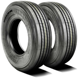 2 New Transeagle All Steel St Radial St 225 75r15 Load 12 Ply Trailer Tires