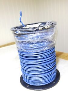 Southwire 10 Awg Copper Building Wire Blue Stranded Thhn thwn 500ft 22976501