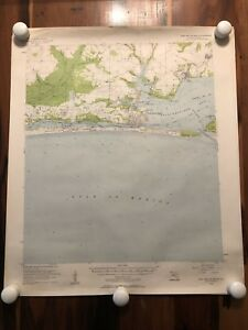 Collection Of 5 Vintage 1930s 50s Usgs Topographical Maps Of Florida E5