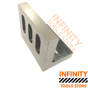 Infinitytools 112x88x75mm Angle Plate Slotted Milling Lathes Engineering Tools