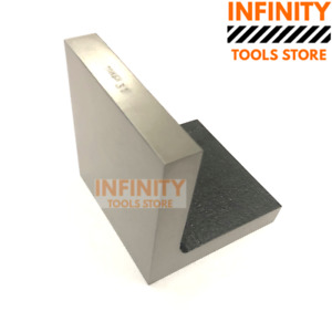Infinity Tools 4 X 4 Solid Face Angle Plate Milling Lathes Engineering Tools