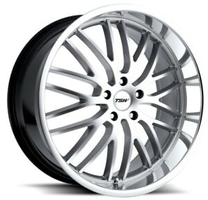 18x8 Tsw Snetterton 5x114 3 Rims 20 Hyper Silver Wheels Set Of 4