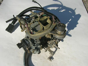 Holley List 40186 2 Barrel Carburetor Dodge Plymouth Omni Horizon Tc3