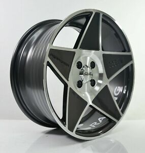 4pcs Oz Racing 17inch 8j 4x114 3 4x100 Alloy Wheels Cheap Rims Gunmetal Star 3