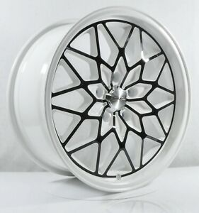 4pcs Oz Racing 17inch 8j 5x114 3 Cheap Wheel Alloy Wheel Car Rims White Lg13 3