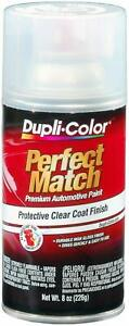 Dupli Color Clear Perfect Match Automotive Paint Protective Top Coat 8oz Aerosol
