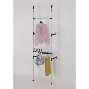 Modern Telescoping 3 tier Clothing Jeans And Purse Storage Rack