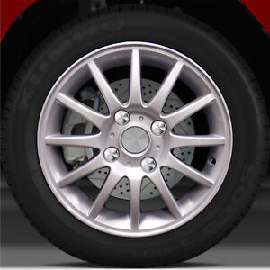 15x6 Factory Wheel Bright Sparkle Silver For 2004 2005 Suzuki Forenza