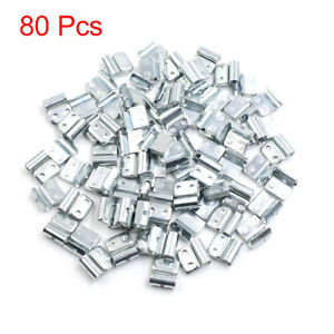 10g Clip-on Metal Wheel Balance Weights for Motorcycle Car 19 x 20.5mm 80pcs