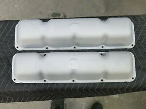 1967 68 69 70 Amc 304 343 360 390 401 Factory Steel Valve Covers Real Clean Nice
