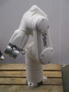 Staubli Unimation Tx60 6 axis For Increased Flexibility Articulated Robotic Arm