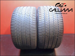 2 Two Tires Nice Michelin 295 35 20 Pilot Sport A S Plus 105v All Season 49444