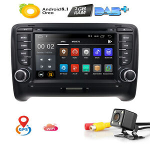 For Audi Tt Mk2 Android 8 1 Car Radio Dvd Mp3 Player Stereo 7 Bt Gps Navigation