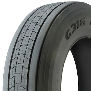 Goodyear G316 Lht Fuel Max St 255 70r22 5 Load H 16 Ply Trailer Tire