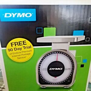 Dymo 50 Lb Mechanical Scale Y50 New In Box Postal Stainless Steel Platform New