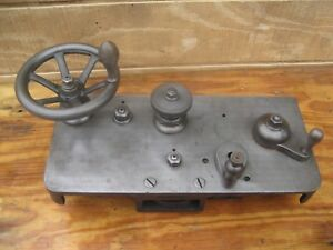 Cincinnati Lathe Apron Or Carriage Complete With Half Nuts