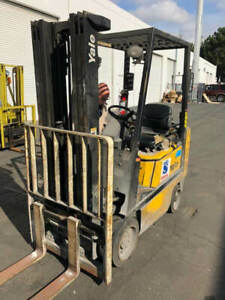2003 Yale Glc040 Low Hours Sit Down Propane Forklift Financing Available