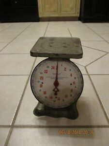Vintage Antique 1913 Scale Weight Patents Pending Paxton Gallagher Omaha Ne
