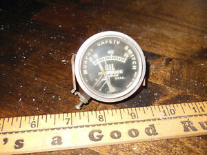 Vintage Ford Chevy Dodge Hot Rod Murphy Oil Safety Switchgage Trog